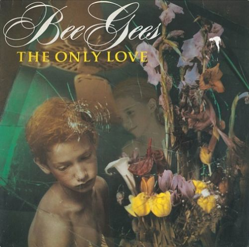 BEE GEES The Only Love Vinyl Record 12 Inch German Warner Bros. 1991
